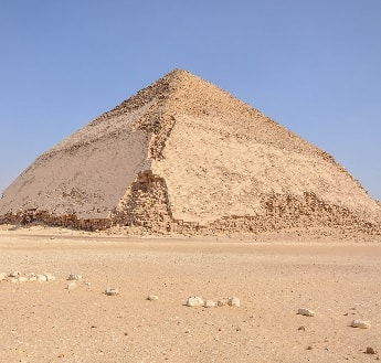 Ancient Egyptian Bent Pyramid