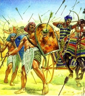 ANCIENT EGYPTIAN SOLDIERS FACTS