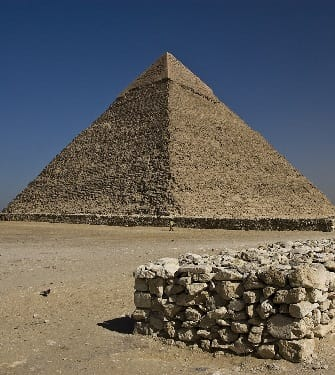 The Great Pyramid on the Giza Plateau