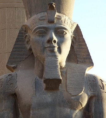 Statue of Ramesses II at the Luxor Temple