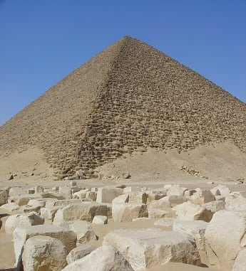 Ancient Egyptian Red Pyramid