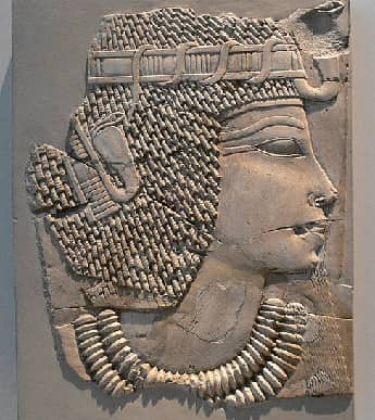 Ancient Limestone Relief of Amenhotep III