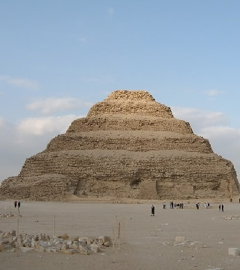 Ancient Egyptian Step Pyramid